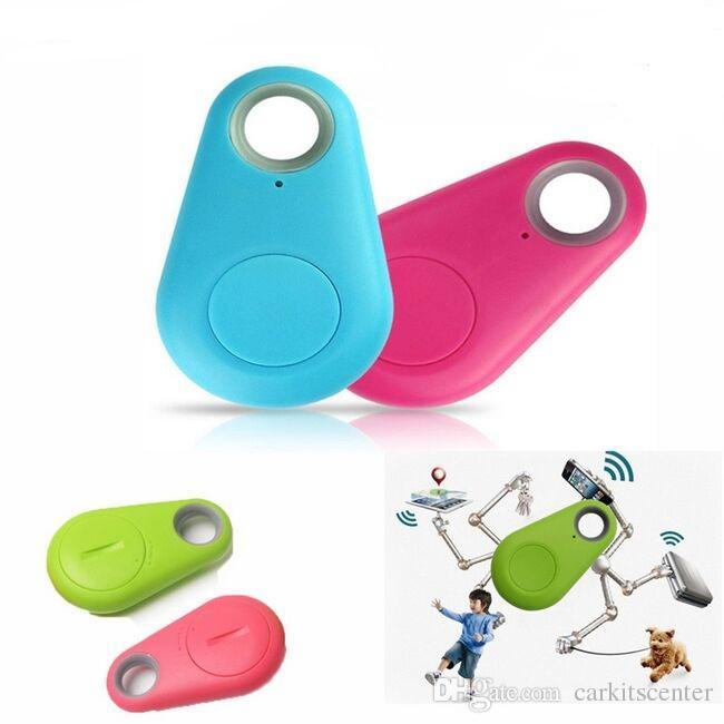 Bluetooth Tracker Finder itag para Kid Pet Bag Monedero Key Finder Mini Wireless Smart Localizador GPS Anti-lost Alarm keychain 10 unid