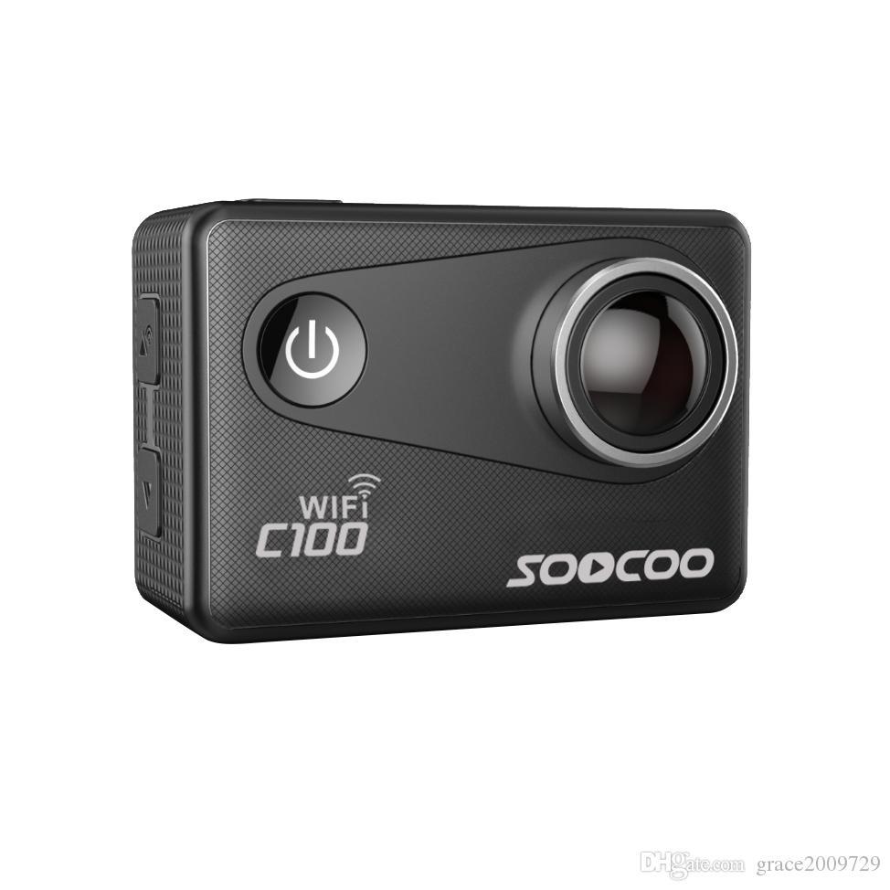 Telecamera SOOCOO C100 4K Wifi Sport con fotocamera integrata Gyro con estensione GPS (modello GPS non incluso)