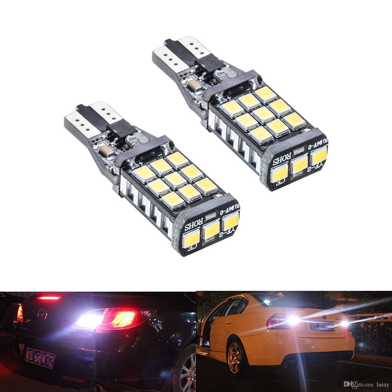 2 pz T15 W16W 921 912 2835 21SMD LED Canbus Errore Free Coda Lampadine Lampadine Auto Reverse Light Backup Luce bianca 12V 24V