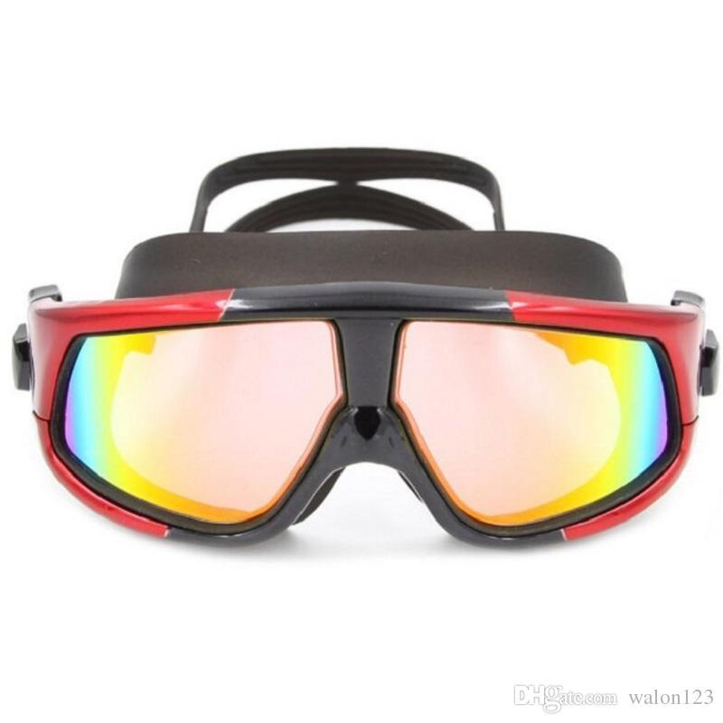 جديد المهنية مكافحة الضباب ومكافحة الأشعة فوق البنفسجية الكبار السباحة بركة المياه نظارات نظارات السباحة عالية الجودة شحن مجاني