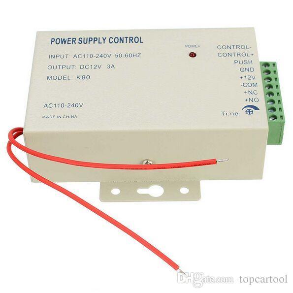 1pcs Netzteil Steuerschalter Tür Access Control System DC 12V 3A / AC 110 ~ 240V
