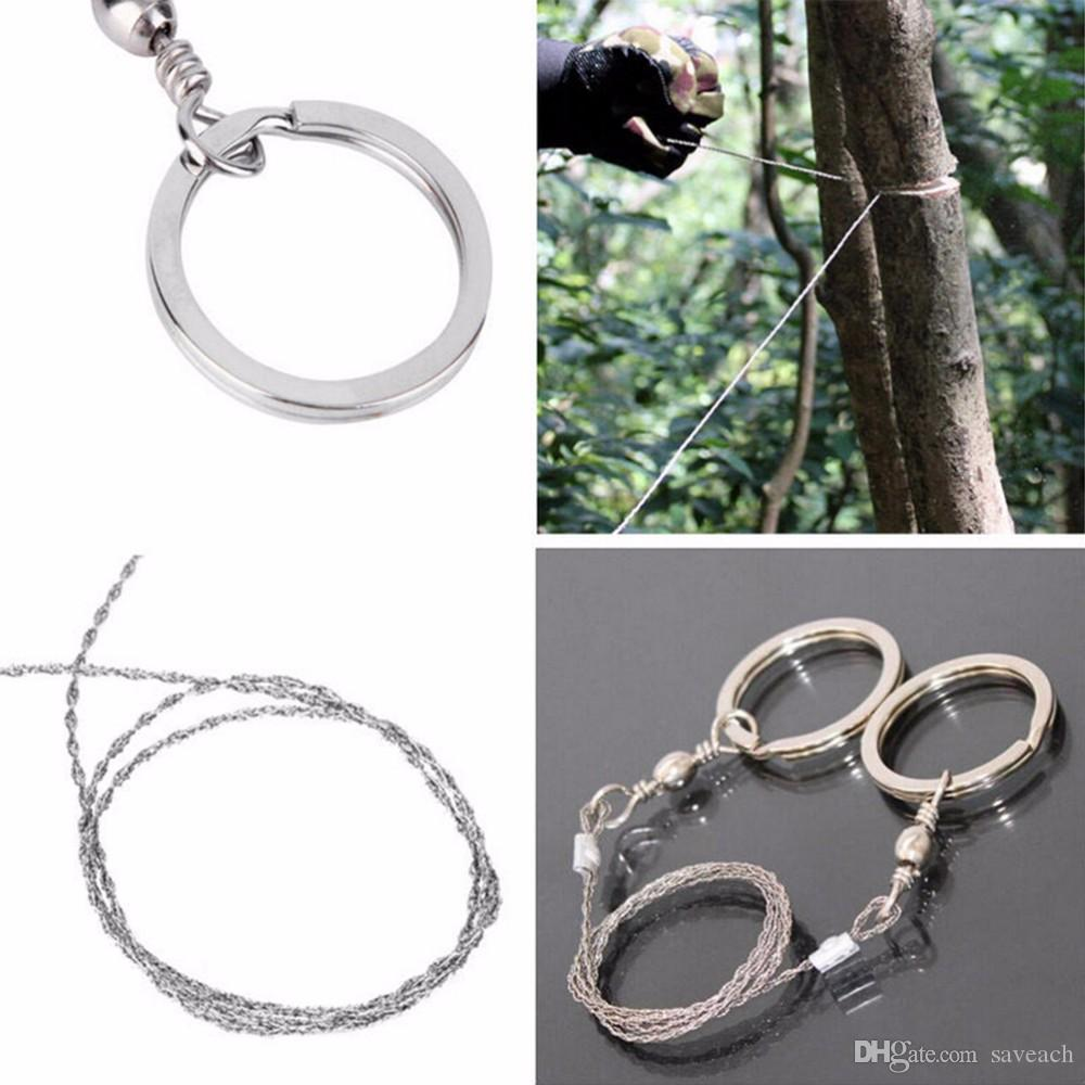 High Quality - Steel Wire Saw Strongest Emergency Camping Hunting Survival Tool Camp Hot Sell Free Shipping