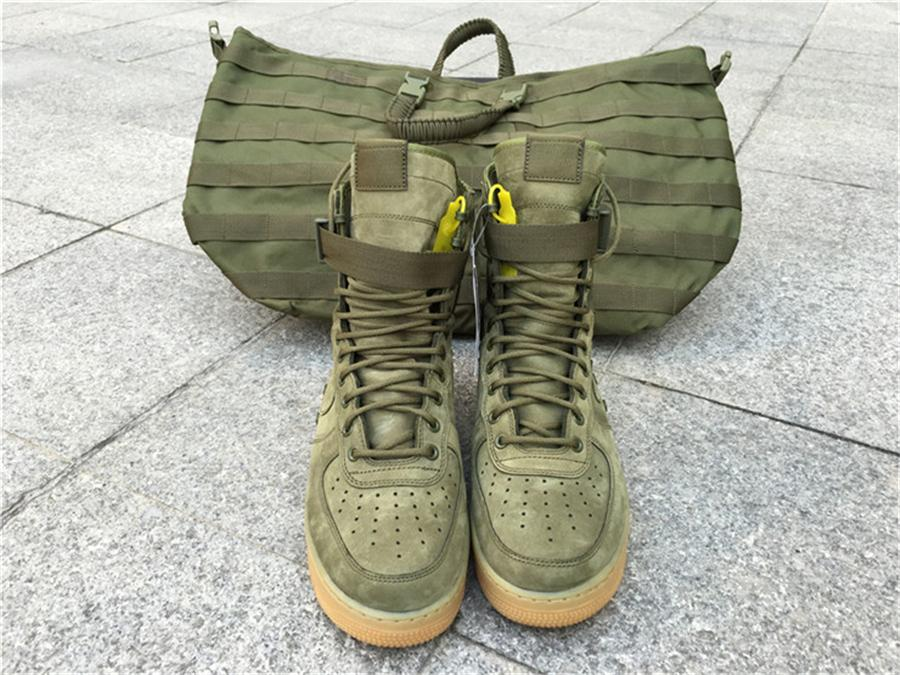 quality design 1751a c7e45 2019 High Quality DEAL SFAF1 Special Field SF Air Force 1 Olive/Gum Men QS  SFAF 1 859202 339 OLIVE SPECIAL FIELD URBAN UTILITY With Box From Yhboss,  ...