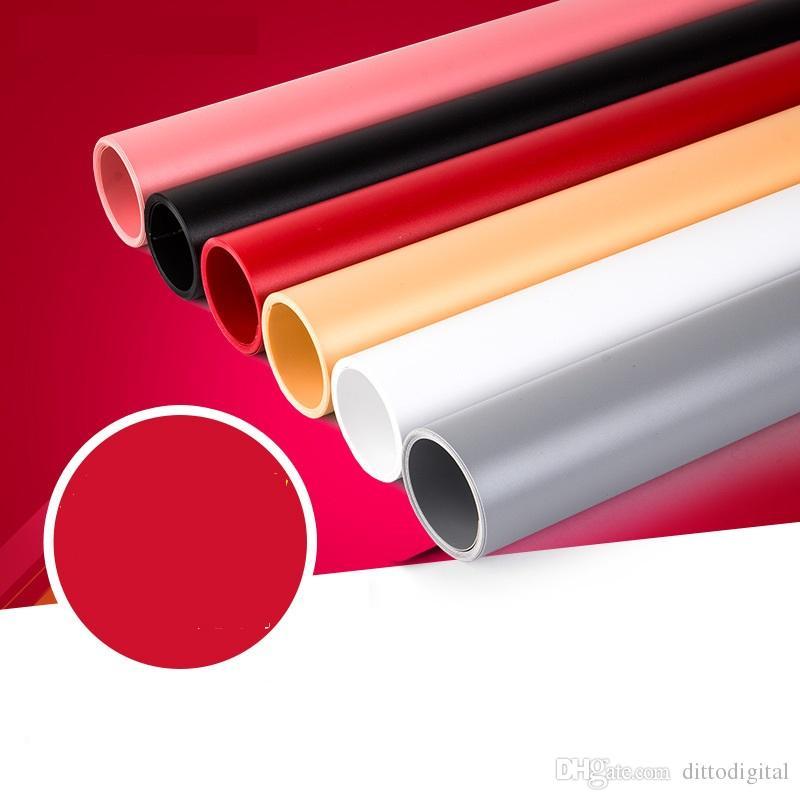 3.3 '* 6.5' impermeable PVC fotografía telón de fondo mate policloruro de vinilo panel de fondo de la fotografía Sin pliegue Fondos a prueba de polvo