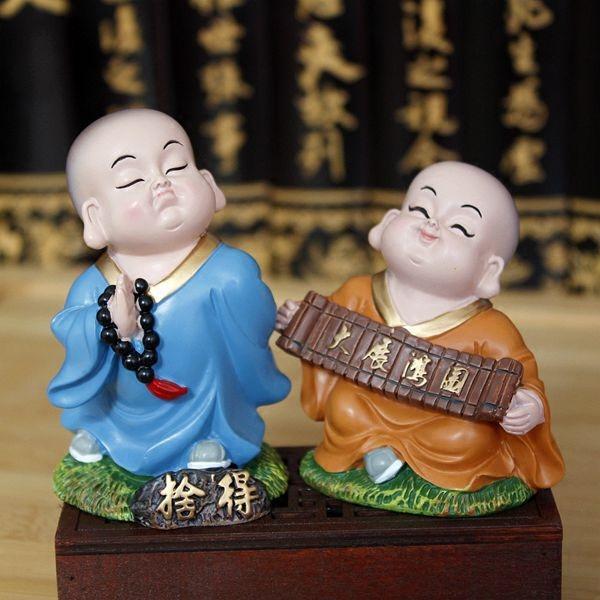 Monaco monaco sicuro artigianato ornamenti auto decorazione decorazione Arredamento per la casa piccola bambola regali creativi
