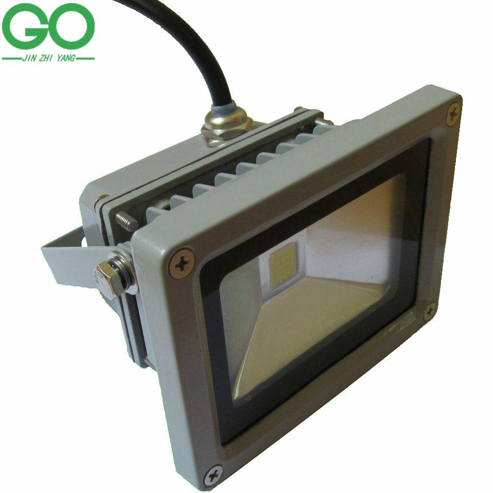 LED 10W Flutlicht LED Außenbeleuchtung Flutlicht Wasserdicht IP65 110V 120V 130V 220V 230V 240V warmer kalter natürlicher weißer Bridgelux Chip