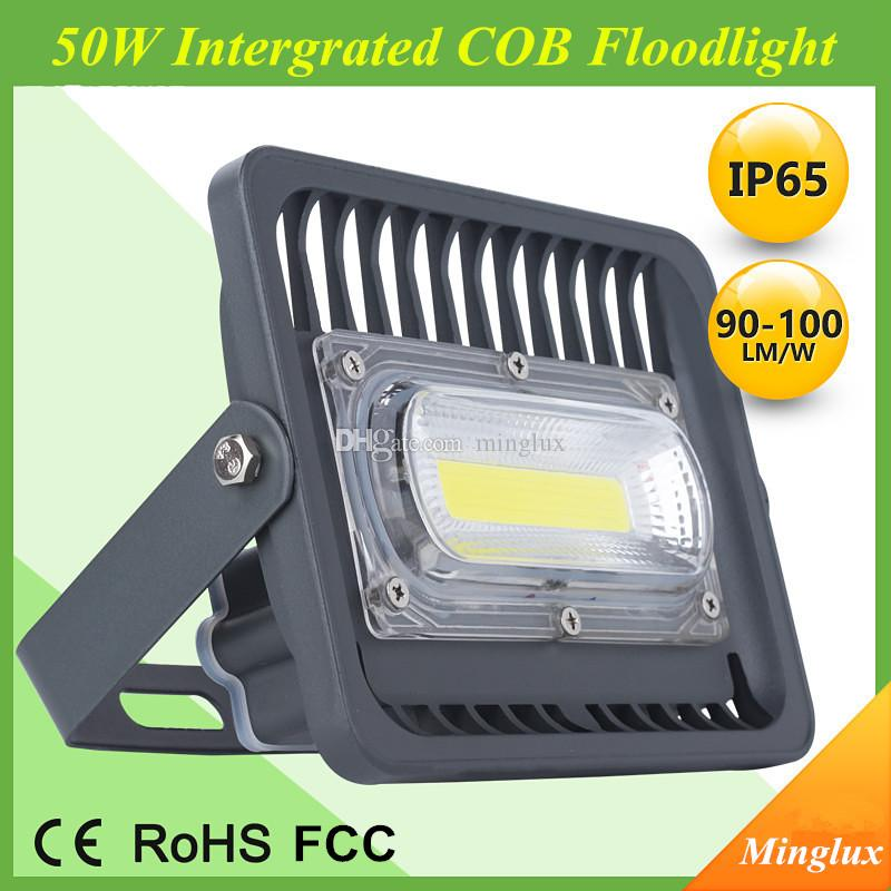 Aviation Aluminum Housing 50W LED Floodlight High Quality Intergrated COB Flood lamp for Outdoor and Gas Station Lighting