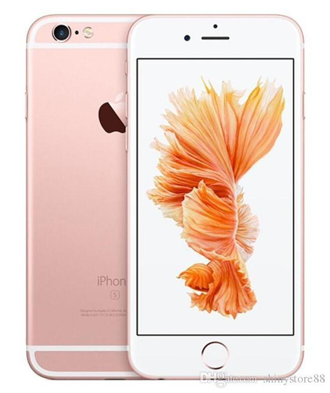 مستعملة أبل iPhone 6S الأصلي 64 جيجابايت الهاتف الخليوي مقفلة دون اتصال معرف ثنائي النواة IOS 10 4.7 بوصة 12MP