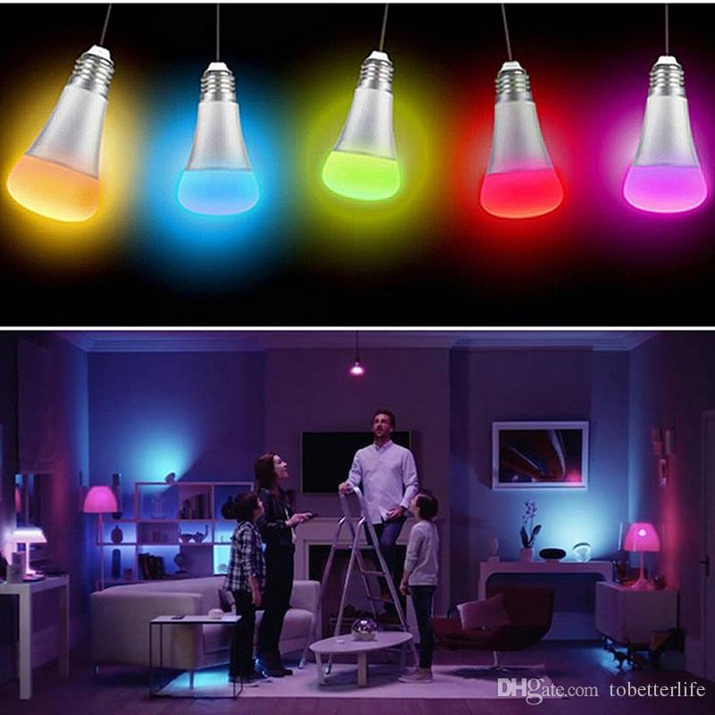 Resultado de imagem para decoração com lâmpada led rgb