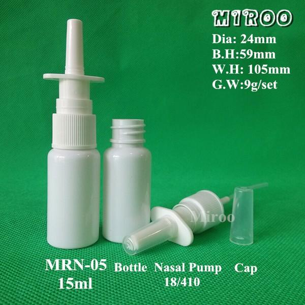 15ml nasal spray bottle dimension