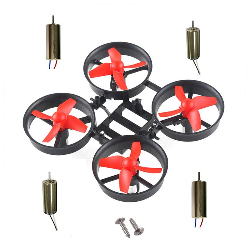 JJRC H36 Quadcopter Rame Kit Chareble Motor 615 с Blade 4шт CW CCW Motor для DIY крытый мини-квадроцикл DIY