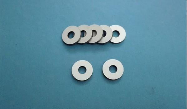 Piezoelectric Chips 15.9 * 6 * 2.55-PZT4 Anneaux piézo-céramiques piézo-céramiques de nettoyage ultrasoniques de nettoyage ultrasoniques Massager amincissant
