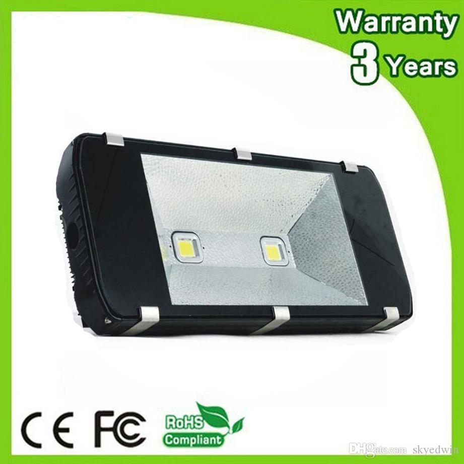 (4PCS/Lot) 12V LED Floodlight 200W LED Flood Light DC12V 24V AC85-265V Thick Housing 100-110LM/W 3 Years Warranty Free Shipping