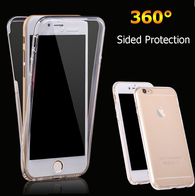 New Design 360 Degree Protection Case For IPhone 7 Plus Clear ...