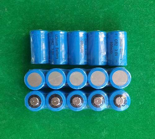 500pcs / Lot CR2 3V de litio 800mAh batería recargable para cámara de fotos no linternas LED