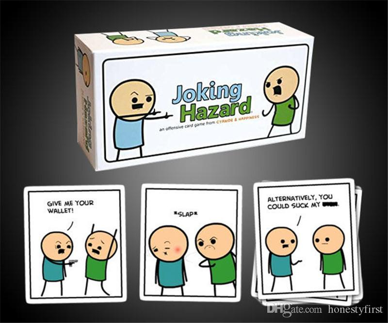 Joking Hazard Card Game Toys Party Game Comics Funny Happiness Games With Cyanide Box Edition Friend Plays  Panel Cards  From