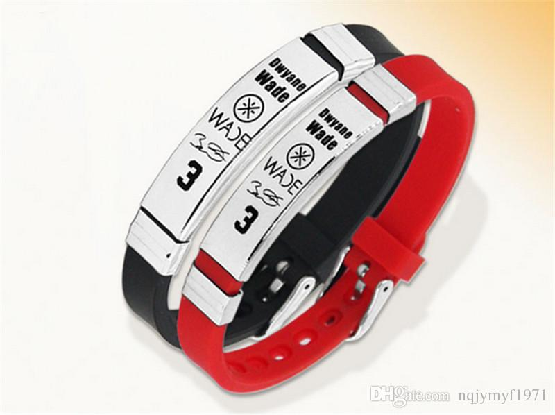 High quality energy wristband wiht Stainless steel buckle buckle size can adjust balance sports bracelet power bangle for wade