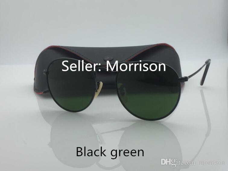 Runde Metall Sonnenbrille Designer Brillen Gold Flash Glaslinse für Herren Damen Spiegel Sonnenbrille Runde unisex Sonnenbrille mit Etuis und Box