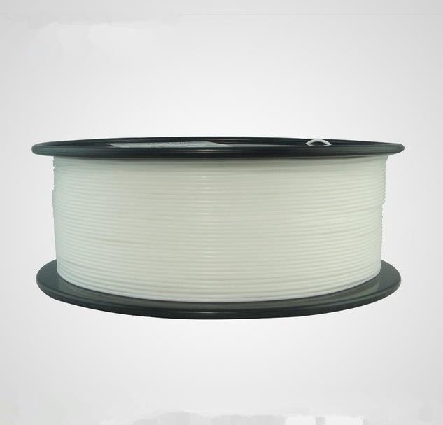 Freeshipping 1kg 1.75 mm белая гибкая нить, Нить гибкого трубопровода, резиновая нить для принтера 3d