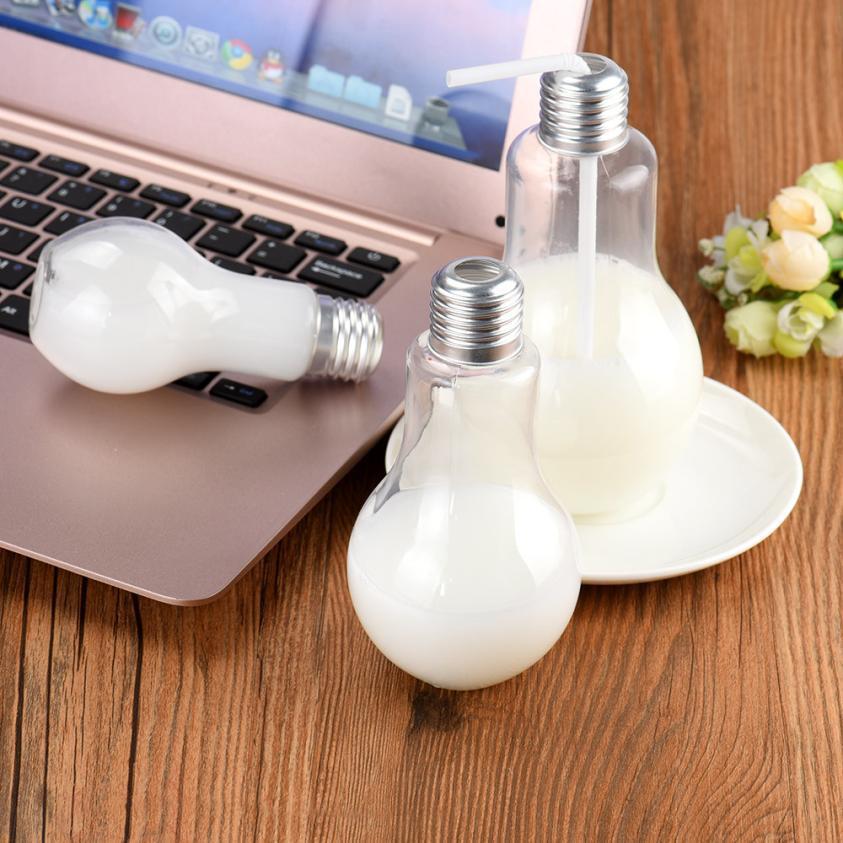 الجملة - الإبداعية زجاجة ماء بسيط الأزياء جودة عالية الحياة المنزلية الأساسية شكل كوب ضوء