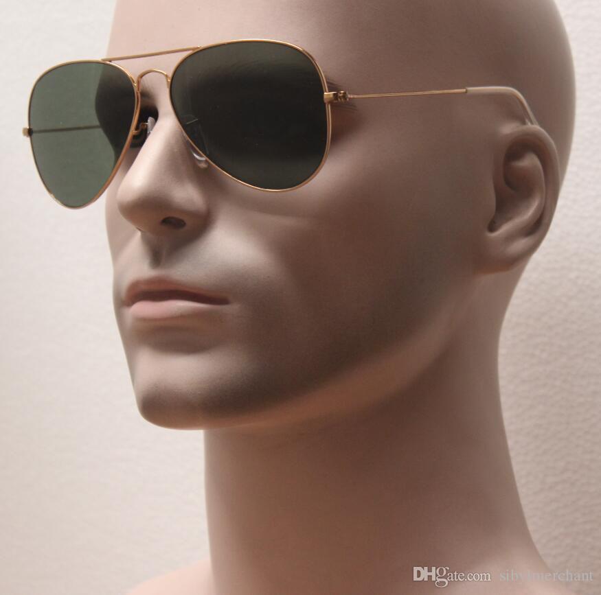 Most popuplar classical metal frame glass lens unisex sunglasses ,L0205 G15 gafas,movie star same style beach eyes glasses