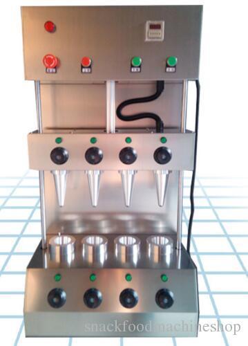 2600 w 4 parça kalıpları pizza koni makinesi Pizza ekmek makinası pizza koni makinesi makinesi