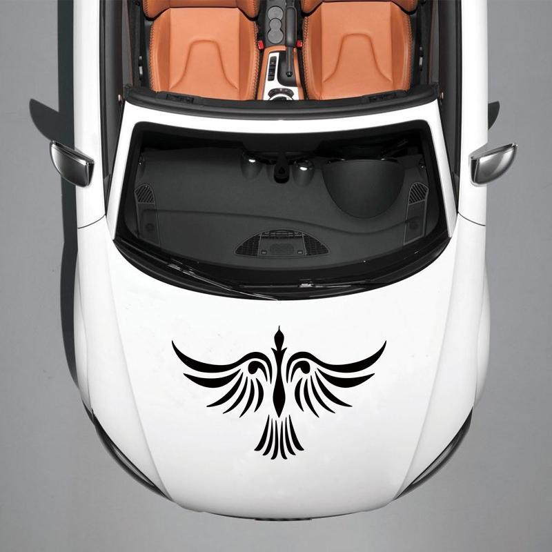 Personalità Auto Stying Vinyl Decal Grafica Adesivi Auto Stickert Design Phoenix Bird Tattoo Jdm