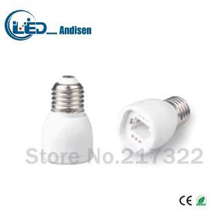 E27 TO G24 adapter Conversion socket High quality material fireproof material E12 socket adapter Lamp holder