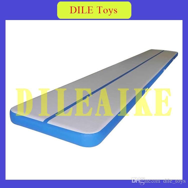 Trasporto libero 3x1x0. 1 m Gonfiabile Air Mat ginnastica pista aria Taekwondo Pavimento Tumbling Arti Marziali formazione cuscino D'aria per la vendita