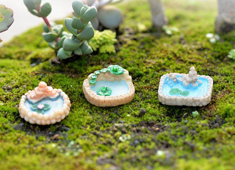 6pcs statuette di statuine di piccole dimensioni terrario fata decorazione del giardino miniature strumenti bonsai giardino micro paesaggio casa delle bambole di Zakka