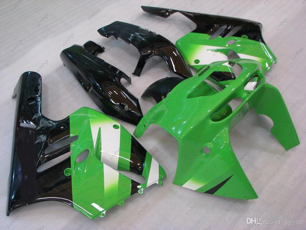 Fairing Kits Zx9r 1994 Fairings Plastic for Kawasaki Zx9r 1995 Green Black ABS Fairing Zx-9r 96 97 1994 - 1997