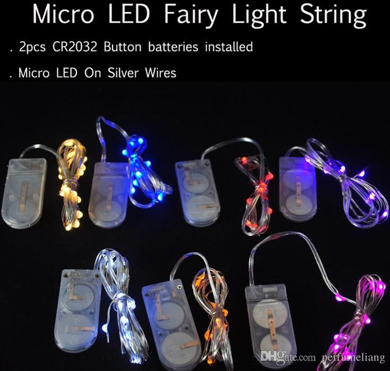 Newest Cr2032 Battery Operated 2m 20leds Micro Led Fairy String Light Copper Wire Led String Holiday Light Decorations Jf 730 Led Light String Bedroom