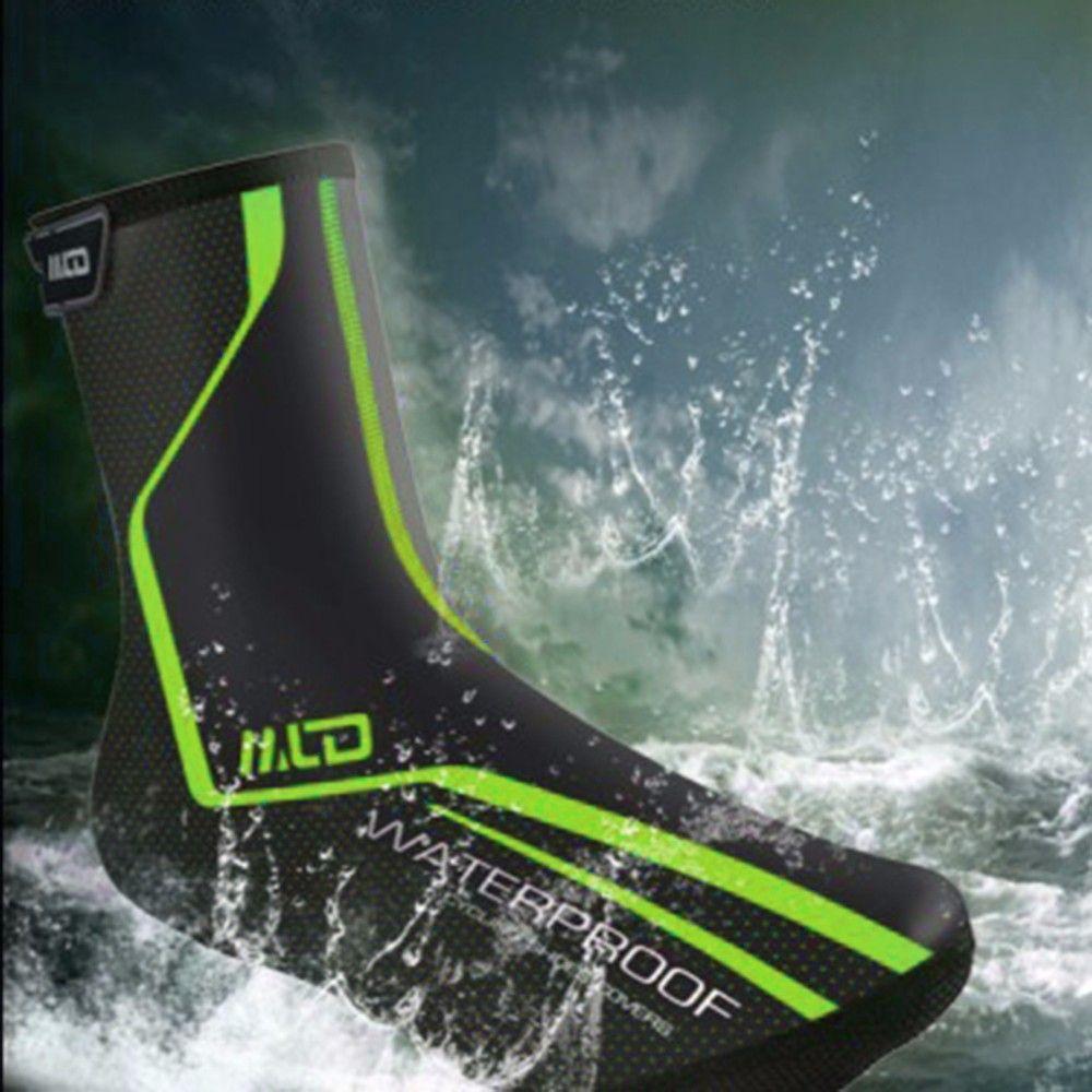 MLD Imperméable à l'eau Bicyclette Respirant Couvre-Chaussures Cyclisme Surchaussures Coupe-Vent Vélo Extérieure Zippered Surchaussures M / L / X L