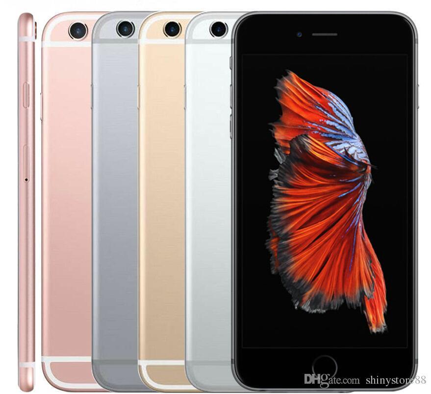 ORIGINAL 100% Apple iPhone 6S 16GB / 64GB / 128GB No Touch ID Dual Core IOS 11 4.7 polegadas 12MP desbloqueado celular