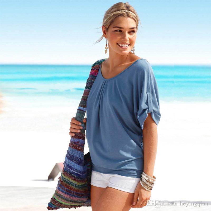 donne nuove T-shirt Immagine splicing collare vuoto-fuori di pizzo T-shirt semplice per aggiungere le maniche T-shirt