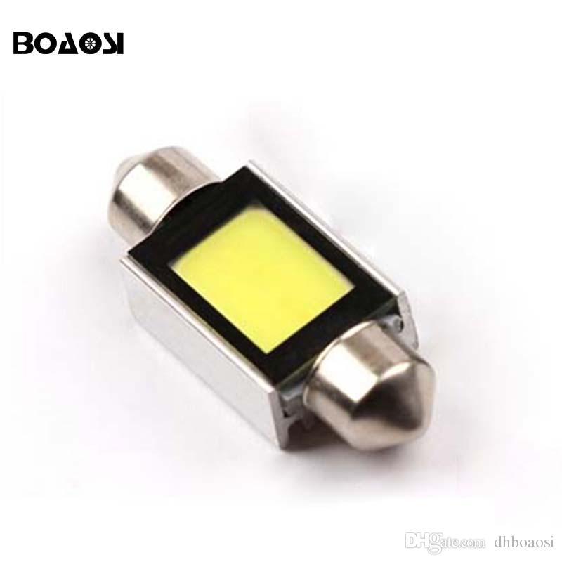 Haute Qualité Blanc 31mm 36mm 39mm 41mm C5W COB Intérieur Festoon Dôme Carte C5W Voiture Lumière Lampe Ampoule Pathway éclairage 12 V Lampe