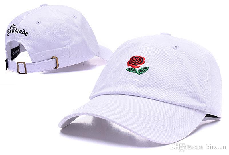 3fa88648 new casquette the hundreds fist dad hat rose strap back cap man woman bone  swag golf ...