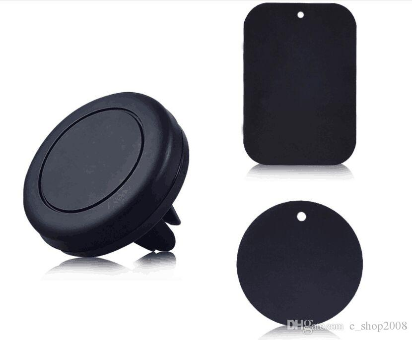 Car Mount, Air Vent Magnetic Universal Car Mount Phone Holder for iPhone 8/7/6/6s, One Step Mounting ,Reinforced Magnet