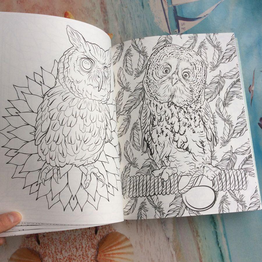 Harry Potter Coloring Book libro para colorear