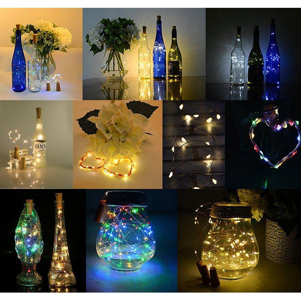 Großhandel Flasche Led Lights, Mini String Beleuchtung 30in Kupfer ...