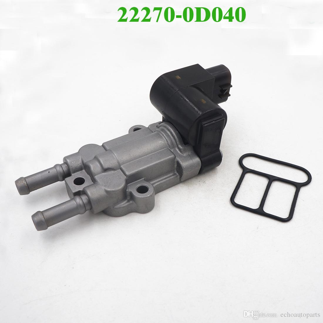 22270-0D040 Idle Air Control Valve Fits:Vibe Toyot Corolla Matrix 2003-2006 /&