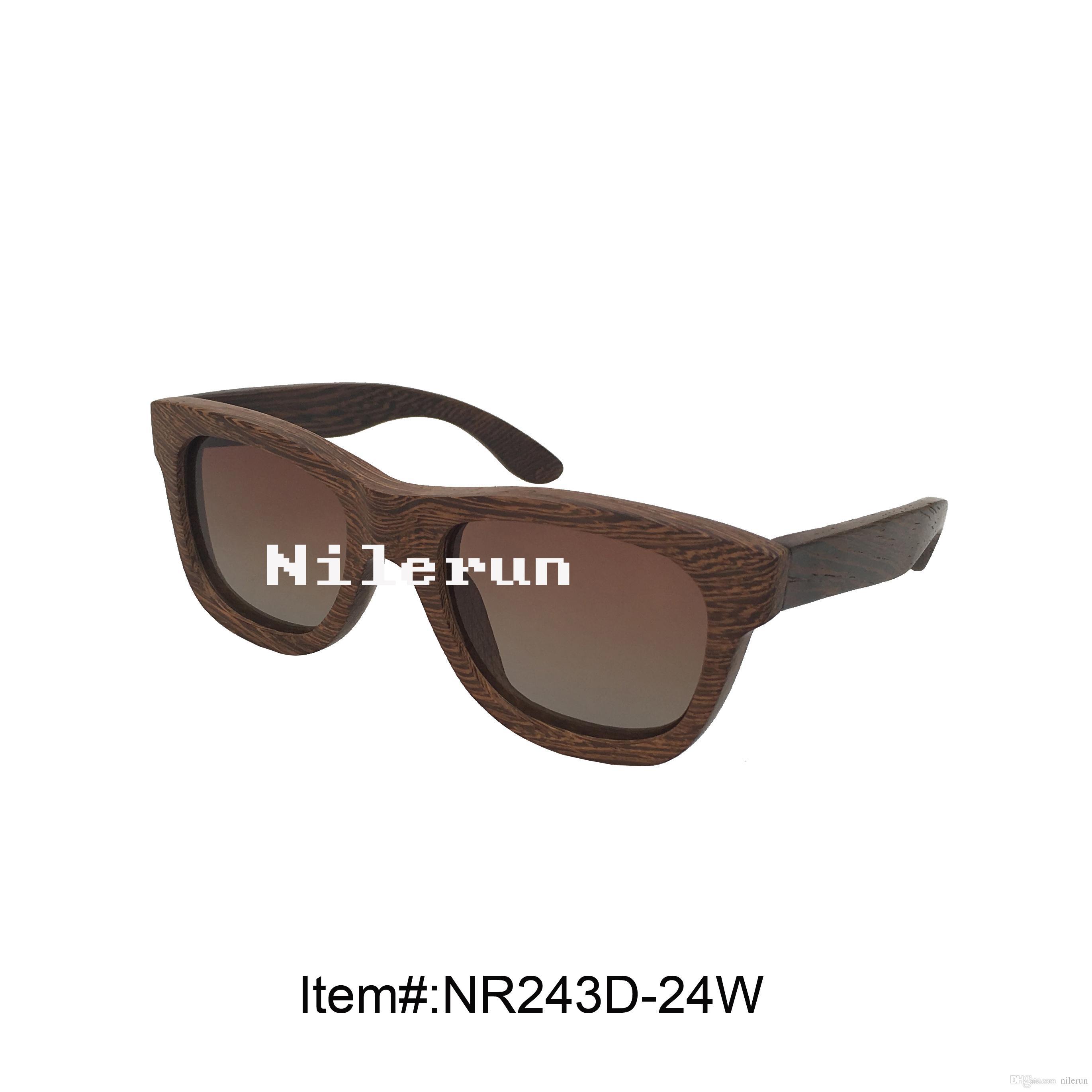 occhiali da sole in legno con ali di pollo fatte a mano