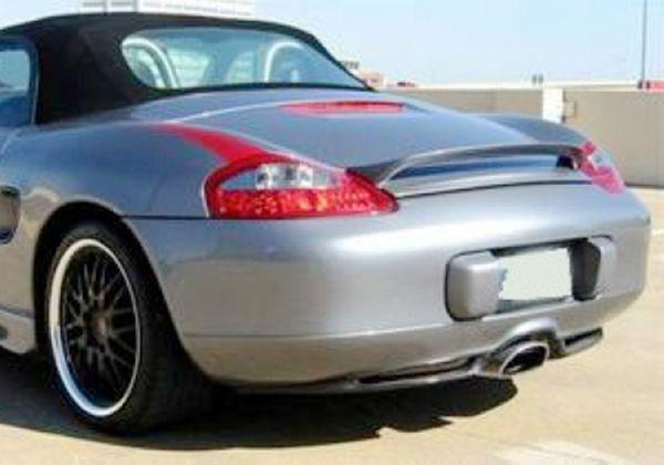 FOR   PORSCHE 1997-2004 BOXSTER 986 LIFT REAR WING TRUNK SPOILER Unpainted