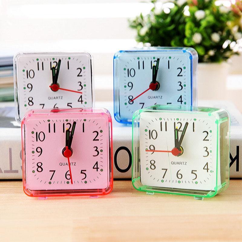Güzel Yaratıcı Moda Dijital Saat Elektronik Çalar Saat Yatak Odası Başına Bir Yatak Küçük Çalar Saat V3482