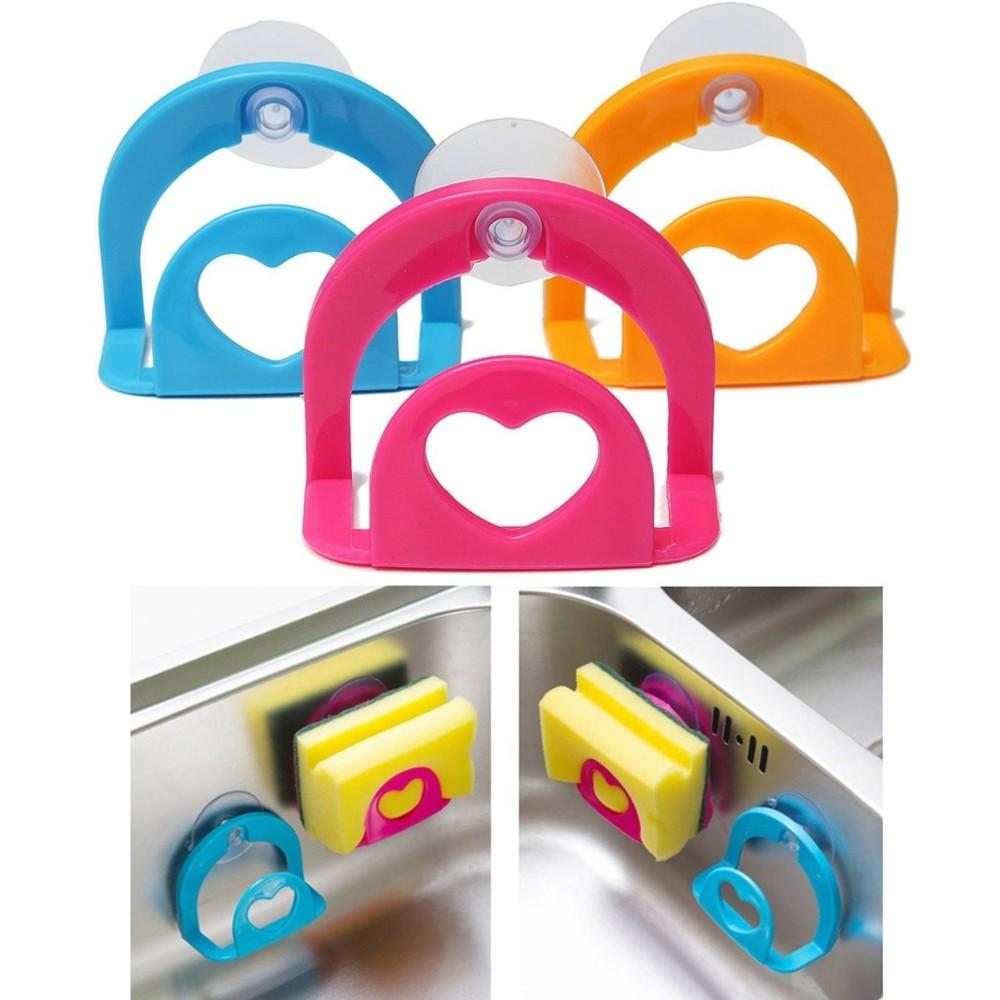 Storage Suction Dish Wall Cup Sink Tub Holder Mount Sponge