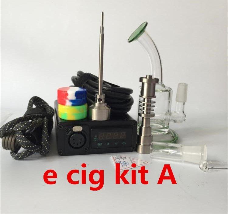 e cig kit Temperaturregler box Für DIY Rauch spule quarz nagel carb cap glasöl brenner dab rig