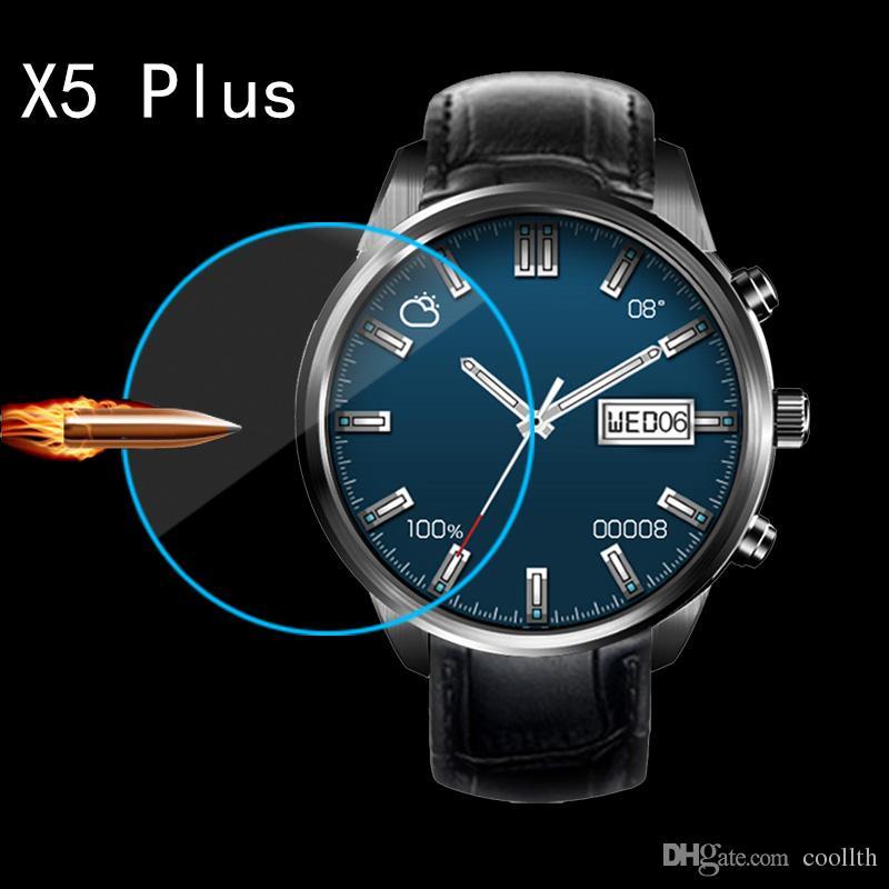 Q3 q3plus K18 kw18 I3 DM368 Smartwatch를위한 2016 돌진 보호자 1.39inch 강화 유리 FINOW X5 5plus lem5 스마트 시계 화면 같은 무늬