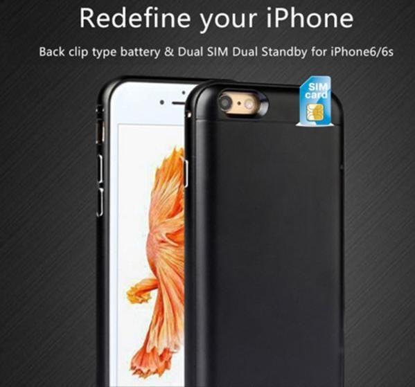 dual sim cover iphone 6