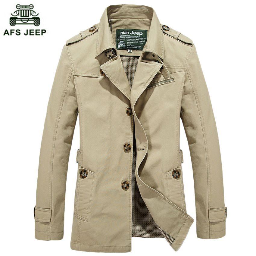 Toptan-2020 Yeni Stil Erkek Kaliteli Siper erkek Giyim Rahat Ceket erkek Ceketler Trençkot Erkekler Ücretsiz Kargo M ~ 5XL69HFX