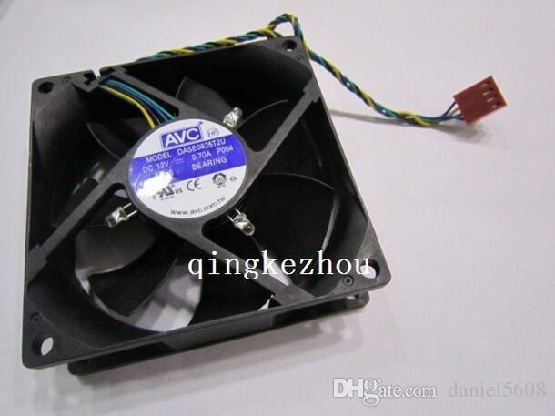 AVC 8025 8CM 0.70A DASE0825T2U ventilateur de boule de contrôle de température de ligne 4